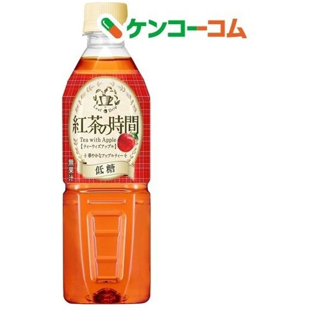 霧の紅茶 紅茶の時間 ティーウィズアップル 低糖 ( 500mL24本入 )/ 霧の紅茶