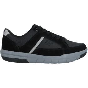 《セール開催中》LUMBERJACK メンズ スニーカー&テニスシューズ(ローカット) ブラック 41 革 / 紡績繊維
