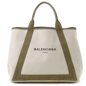 バレンシアガ トートバッグ BALENCIAGA 339936 AQ35N 3365 NAVY CABAS M キャンバス トート レディース ブランド