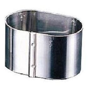 【まとめ買い10個セット品】SA18-8かみ合わせセルクルリング 小判型 65×45×H30mm