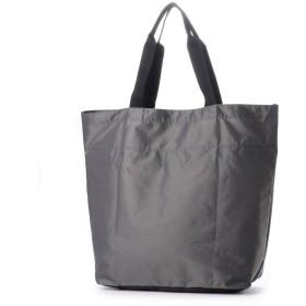 ヴィータフェリーチェ VitaFelice エコバッグ お買い物バッグ 巾着バッグ ナイロントートバッグ レジバッグ アウトドア バックカバー (GRAY)