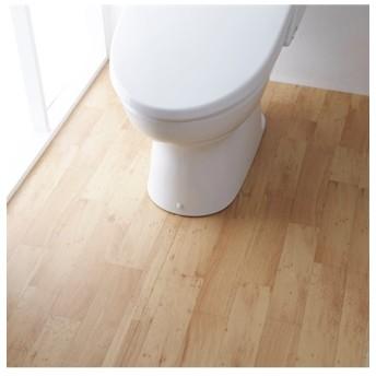 サッと拭ける トイレ全面模様替えシート 木目調タイプ トイレマット・フタカバー・便座カバー