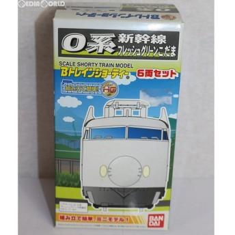 『中古即納』{RWM}Bトレインショーティー 新幹線0系 フレッシュグリーンこだま 6両セット 組み立てキット Nゲージ 鉄道模型 バンダイ(20090131)