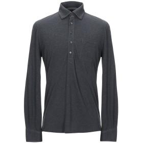 《期間限定セール開催中!》BRUNELLO CUCINELLI メンズ ポロシャツ スチールグレー M コットン 100%