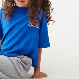 FOREVER21 フォーエバー21 【[KIDS]フルーツパッチクルーネックTシャツ】(5,000円以上購入で送料無料)