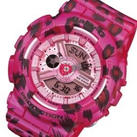 カシオ CASIO ベビーG レオパードシリーズ レディース 腕時計 BA-110LP-4A ローズ【送料無料】