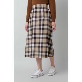 [マルイ]【セール】チェックAラインスカート/ナチュラルビューティーベーシック(NATURAL BEAUTY BASIC)