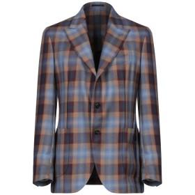 《期間限定セール開催中!》GABRIELE PASINI メンズ テーラードジャケット ブルー 50 ウール 100%
