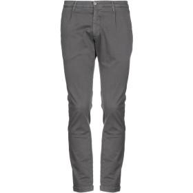《期間限定 セール開催中》MANUEL RITZ メンズ パンツ 鉛色 48 コットン 98% / ポリウレタン 2%