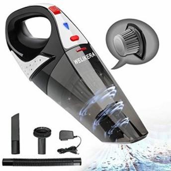 掃除機 充電式掃除機 コードレスクリーナー 小型掃除機 乾湿両用クリーナー ハンディクリーナー 超強吸引力 家庭用/車用掃除機 4800-500