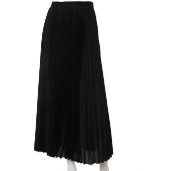 INED L / 《大きいサイズ》プリーツロングスカート
