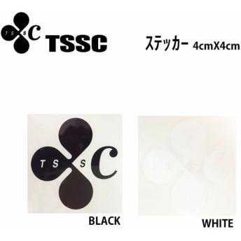 TSSC サーフボード ステッカー カッティング ステッカー 4x4cm
