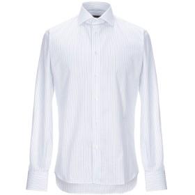 《セール開催中》J.W. SAX Milano メンズ シャツ ホワイト 38 コットン 100%