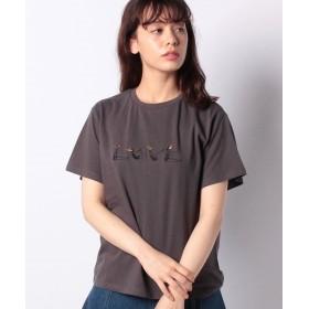 レトロガール LOVE GIRL Tee レディース ダークグレー M 【RETRO GIRL】