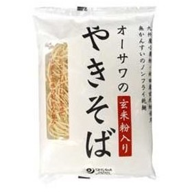 オーサワのやきそば(玄米粉入り)乾麺(160g) オーサワジャパン
