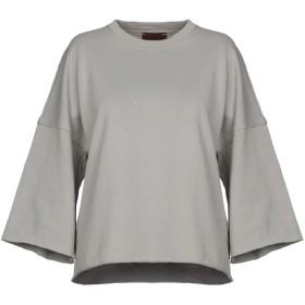 《期間限定 セール開催中》VISION レディース スウェットシャツ グレー M コットン 100%