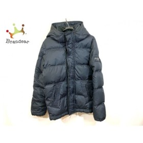 アバクロンビーアンドフィッチ ダウンジャケット サイズS メンズ 黒 フード付き/冬物 新着 20190622
