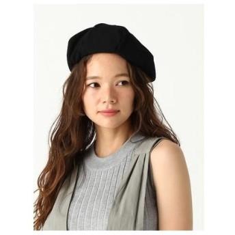 RETRO GIRL ツイルベレー帽 ブラック