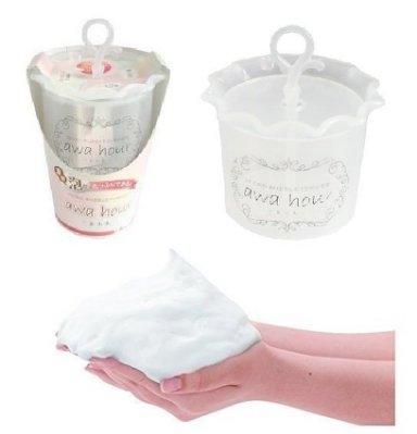 日本 awa hour超濃密洗顏泡泡製造器 洗臉神器 魔法微米起泡器 女人我最大推薦~白色