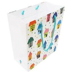 デザイン紙袋M ハウス IE-M 10個 エヒメ紙工 (直送品)