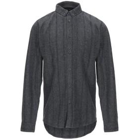 《期間限定 セール開催中》ANERKJENDT メンズ シャツ 鉛色 S コットン 100%
