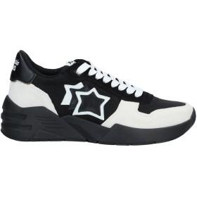 《セール開催中》ATLANTIC STARS レディース スニーカー&テニスシューズ(ローカット) ブラック 36 革 / 紡績繊維