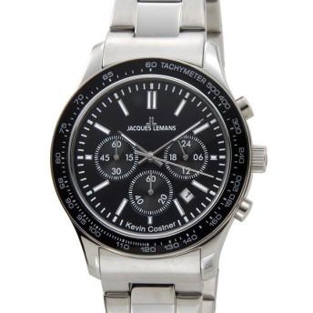 ジャックルマン JACQUES LEMANS メンズ 腕時計 11-1586-8 ケビンコスナー・コレクション クォーツ クロノグラフ デイト 新品 【送料無料】