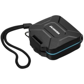ハクバ ハードメモリーカードケース SD4枚収納 SD/MicroSDカード用 ブルー ゆうパケット発送商品