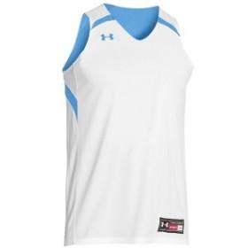 アンダーアーマー Under Armour メンズ トップス バスケットボール Team Clutch Reversible Jersey Carolina Blue/White