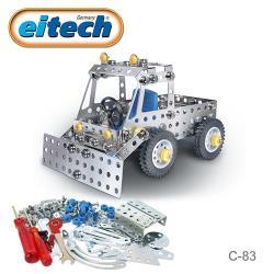 【德國eitech】益智鋼鐵玩具-2合1貨卡車 C83
