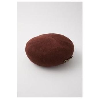 マウジー moussy HORSEBITBERET/ベレー帽 (ブラウン)