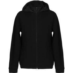 《期間限定セール開催中!》WOOLRICH メンズ スウェットシャツ ブラック M ウール 42% / コットン 35% / ナイロン 15% / ポリエステル 8%