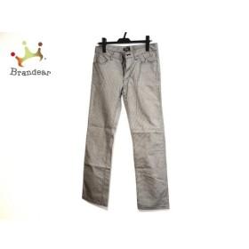 バーバリーブラックレーベル Burberry Black Label パンツ サイズ73 メンズ 黒×白 千鳥格子   スペシャル特価 20190919