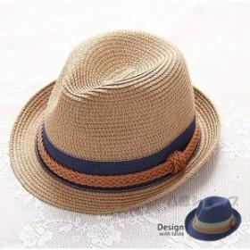パナマ帽 ストローハット 麦わら帽子 帽子 レディース 麦わら 透気性 ハット UVハット 夏 日よけ帽子 春夏 夏物 旅行 海 ベージュ ネイビ
