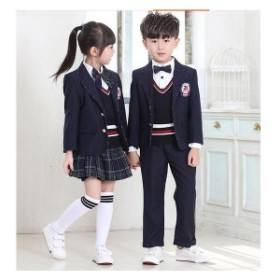 入学式 スーツ 女の子 男の子 スーツ キッズ フォーマル 女の子 男の子 3点セット 子供 フォーマル 子供スーツ カジュアル dt286c0c0m2