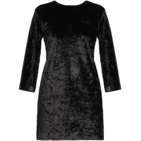 《9/20まで! 限定セール開催中》T+ART レディース ミニワンピース&ドレス ブラック XS ポリエステル 95% / ポリウレタン 5%