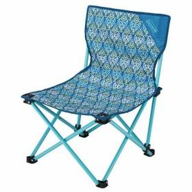 コールマン(Coleman) ファンチェア 収納袋付き フォリッジ/ブルー 2000022004 キャンプ アウトドア バーベキュー 収束型 椅子 運動会