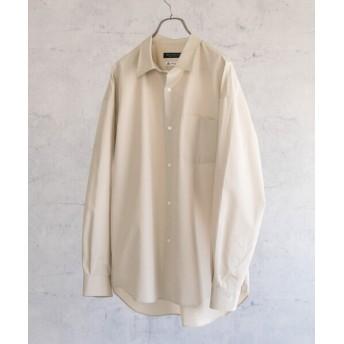 アーバンリサーチ トーマスメイソンオーバーシャツ メンズ BEIGE L 【URBAN RESEARCH】
