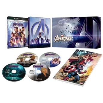 ポニーキャニオンアベンジャーズ / エンドゲーム 4K UHD MovieNEXプレミアムBOX [数量限定版]【Blu-ray】VWAS-6907