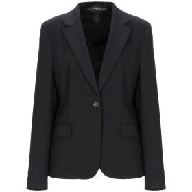 《セール開催中》SEVENTY SERGIO TEGON レディース テーラードジャケット ブラック 48 バージンウール 95% / ポリウレタン 5%