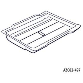 【在庫あり】 AZC82-497 グリル受け皿 Panasonic IHクッキングヒーター用 (KZ-H32B他用) ロースター 交換用 メーカー純正 National