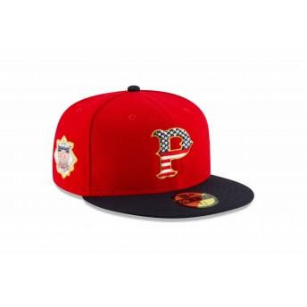 NEW ERA ニューエラ 59FIFTY MLB 2019 July 4th ピッツバーグ・パイレーツ ベースボールキャップ キャップ 帽子 メンズ レディース 7 (55.8cm) 12073051 NEWERA