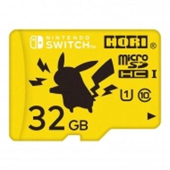 Game Accessory (Nintendo Switch)/ポケットモンスターmicrosdカード 32gb ピカチュウ