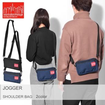 マンハッタンポーテージ ショルダーバッグ ジョガー JOGGER 1404 メンズ レディース ブランド ロゴ 鞄 黒
