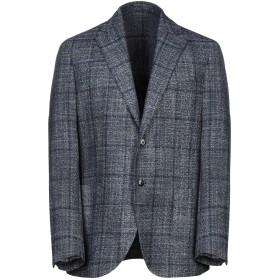 《期間限定セール開催中!》J.W. SAX Milano メンズ テーラードジャケット ブルー 52 ウール 80% / シルク 20%
