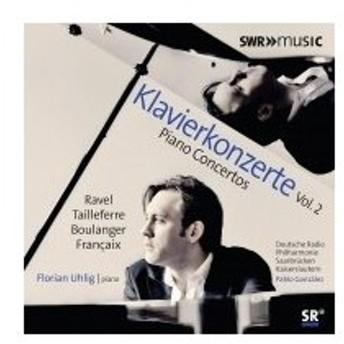 ピアノ作品集 / ラヴェル: 左手のためのピアノ協奏曲、タイユフェール: バラード、N.ブーランジェ: 幻想曲、
