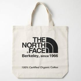 THE NORTH FACE ザ・ノース・フェイス オーガニックコットントート ナチュラル×ソーダライトブラック