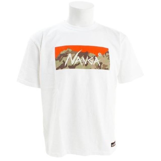 クリフメイヤー(KRIFF MAYER) NANGAコラボTシャツ カモフラ 1919921-1-WHT (Men's)
