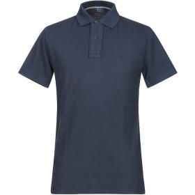 《期間限定セール開催中!》TRUSSARDI JEANS メンズ ポロシャツ ダークブルー S コットン 100%