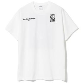 【40%OFF】 ビームス メン Reebok × PLEASURES / VECTOR Tシャツ1 メンズ WHITE M 【BEAMS MEN】 【セール開催中】